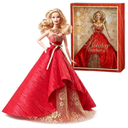 Barbie 2014 Holiday Barbie Caucasian Doll