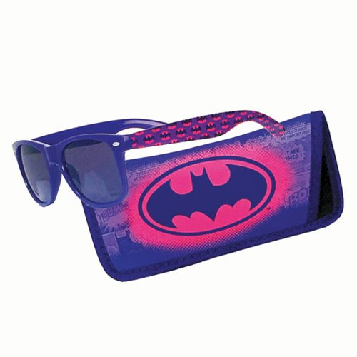 Batman Pink Logo Sunglasses with Carry Case