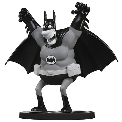 Batman Black and White Sergio Aragones Statue