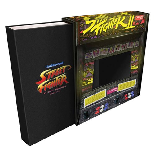 Undisputed Street Fighter Deluxe Edition Hardcover Book