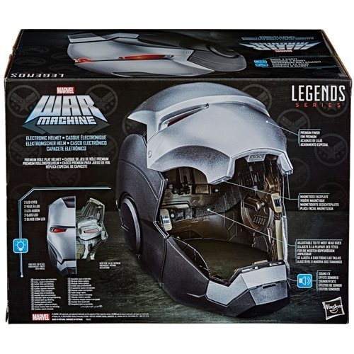 Marvel Legends Series War Machine Roleplay Helmet