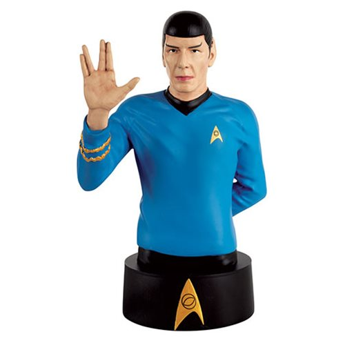 Star Trek Collector's Bust Mister Spock with Magazine #2