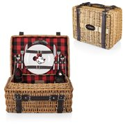 Mickey Mouse Red and Black Buffalo Champion Picnic Basket
