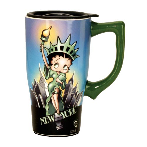 Betty Boop Liberty Travel Mug with Handle