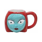 Nightmare Before Christmas Sally Head 20 oz. Ceramic Mug, Not Mint