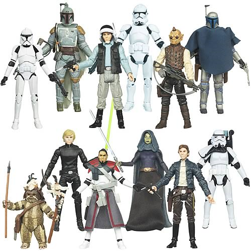 Star Wars Action Figures Vintage Wave 7 Case