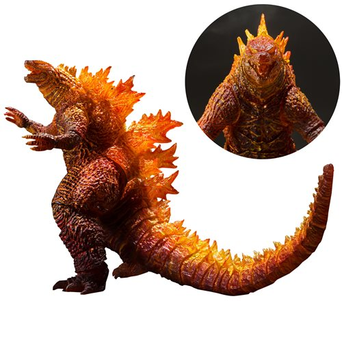 Godzilla: King of the Monsters Burning Godzilla 2019 SH MonsterArts Action Figure