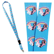 My Little Pony Classic Rainbow Lanyard Key Chain