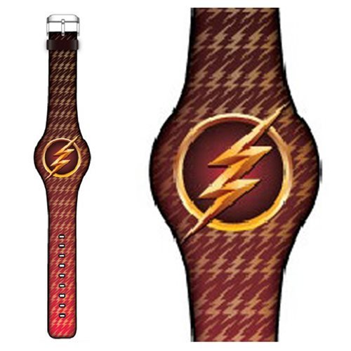 Flash TV Flash Logo Print LED Watch