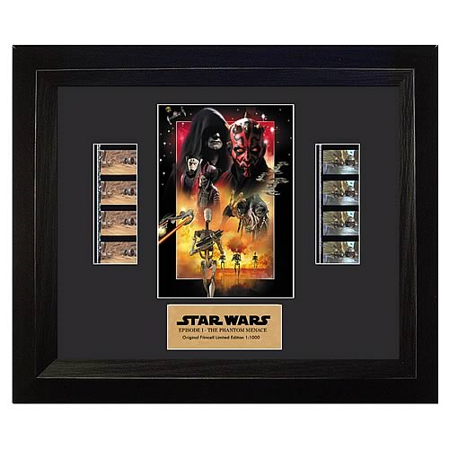 Star Wars The Phantom Menace Double Film Cell