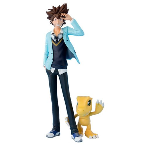 Digimon Adventure Tri Taichi and Agumon Figuarts ZERO Statue