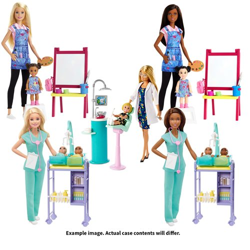 Barbie Careers Playset Case