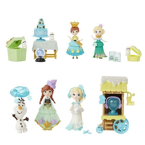 Frozen Small Doll Story Packs Wave 1 Set