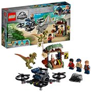 LEGO 75934 Jurassic World Dilophosaurus on the Loose