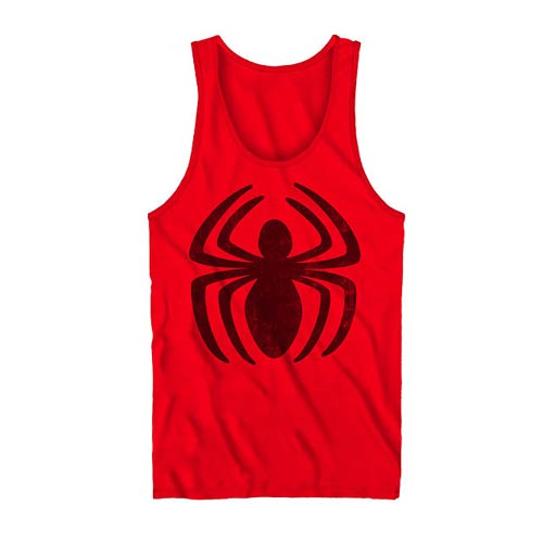 Spider-Man Classic Logo Red Tank Top
