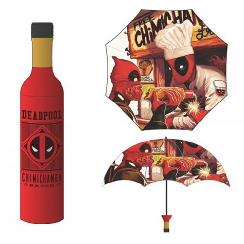 Deadpool Chimichanga Bottle Umbrella