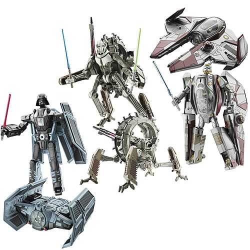 Star Wars Transformers Wave 1