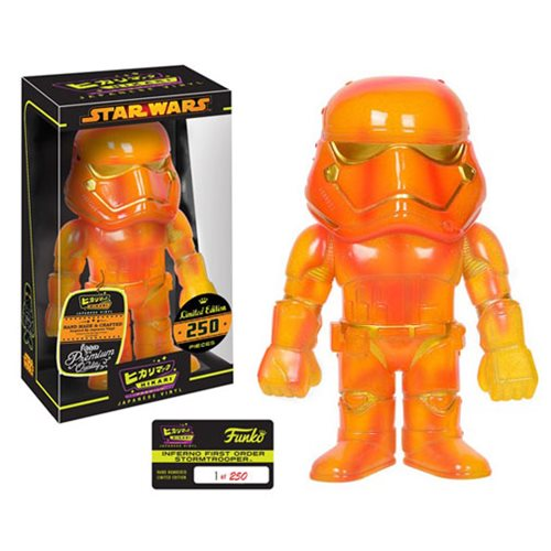 Star Wars Inferno First Order Stormtrooper Hikari Sofubi Vinyl Figure
