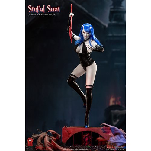 Sin Boldly Sinful Suzi 1:6 Scale Action Figure