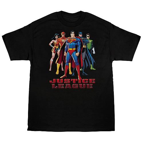 Justice League In League T-Shirt