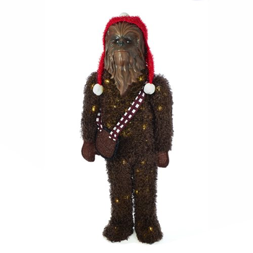 Star Wars Chewbacca 36-Inch LED Tinsel Display