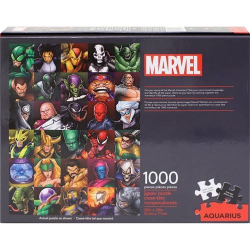 Marvel Villains Collage 1,000-Piece Puzzle