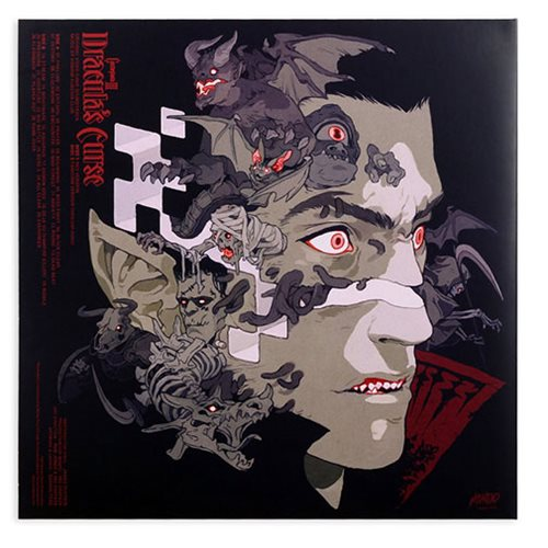 Castlevania III: Dracula's Curse Original Video Game Soundtrack 2XLP