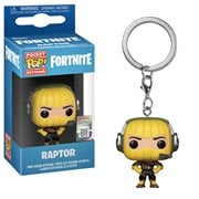 Fortnite Raptor Pocket Pop! Key Chain