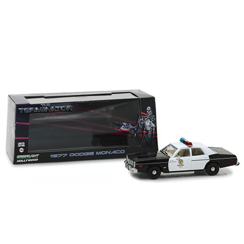 The Terminator (1984) 1977 Dodge Monaco Metropolitan Police 1:43 Scale Die-Cast Metal Vehicle