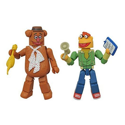 Muppets Minimates Series 1 Fozzie and Scooter 2-Pack