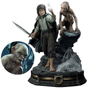 The Lord of the Rings: Return of the King Frodo and Gollum Premium Masterline Statue