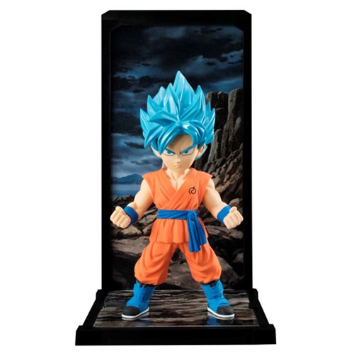Dragon Ball Super Son Goku Super Saiyan God Super Saiyan Tamashii Buddies Mini-Statue