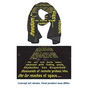 Star Wars Episode V The Empire Strikes Back Opening Crawl Scarf