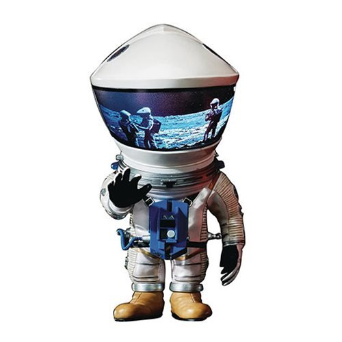 2001: A Space Odyssey DF Astronaut Defo Silver Real Soft Vinyl Figure