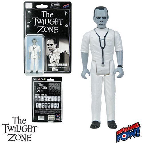 The Twilight Zone Eye of the Beholder Doctor Bernardi 3 3/4-Inch Action Figure Series 2