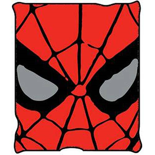 Spider-Man Eyes Throw Blanket
