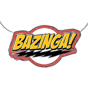 The Big Bang Theory Bazinga! Necklace