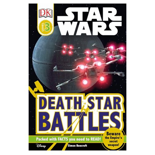 Star Wars: Death Star Battles DK Readers 3 Hardcover Book