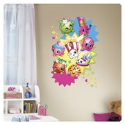 Shopkins Burst Peel and Stick Giant Wall Decal