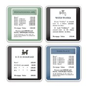 Monopoly Property Ceramic Coaster 4-Pack