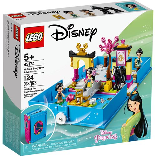 LEGO 43174 Disney Princess Mulan's Storybook Adventures