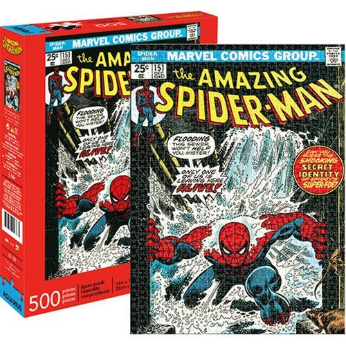 Spider-Man Cover 500-Piece Puzzle