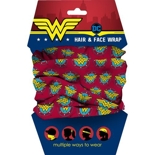 Wonder Woman Logo Youth Hair Wrap