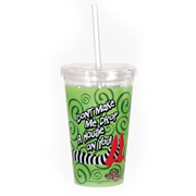 Wizard of Oz Drop a House Travel Cup with Straw