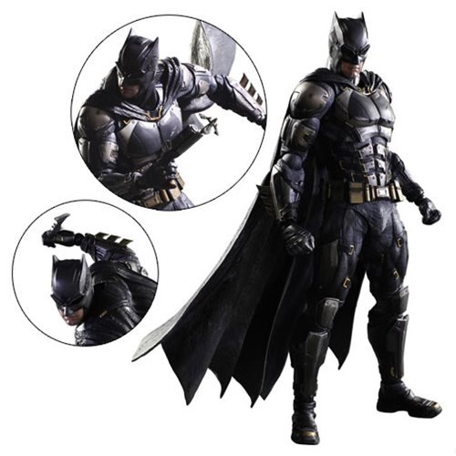 Justice League Batman Tactical Suit Version Play Arts Kai Action Figure