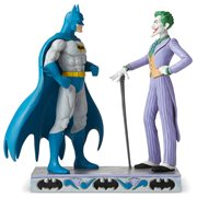 DC Comics Batman and Joker Statue by Jim Shore
