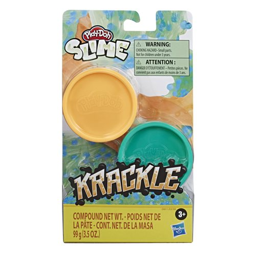 Play-Doh Krackle Slime Single Cans Wave 2 Set