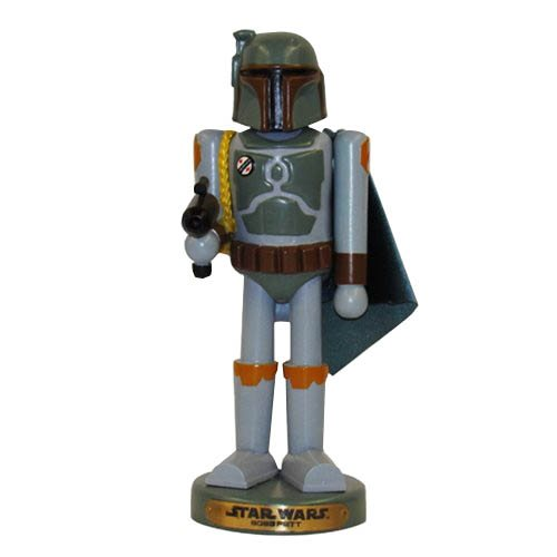 Star Wars Boba Fett 10-Inch Nutcracker