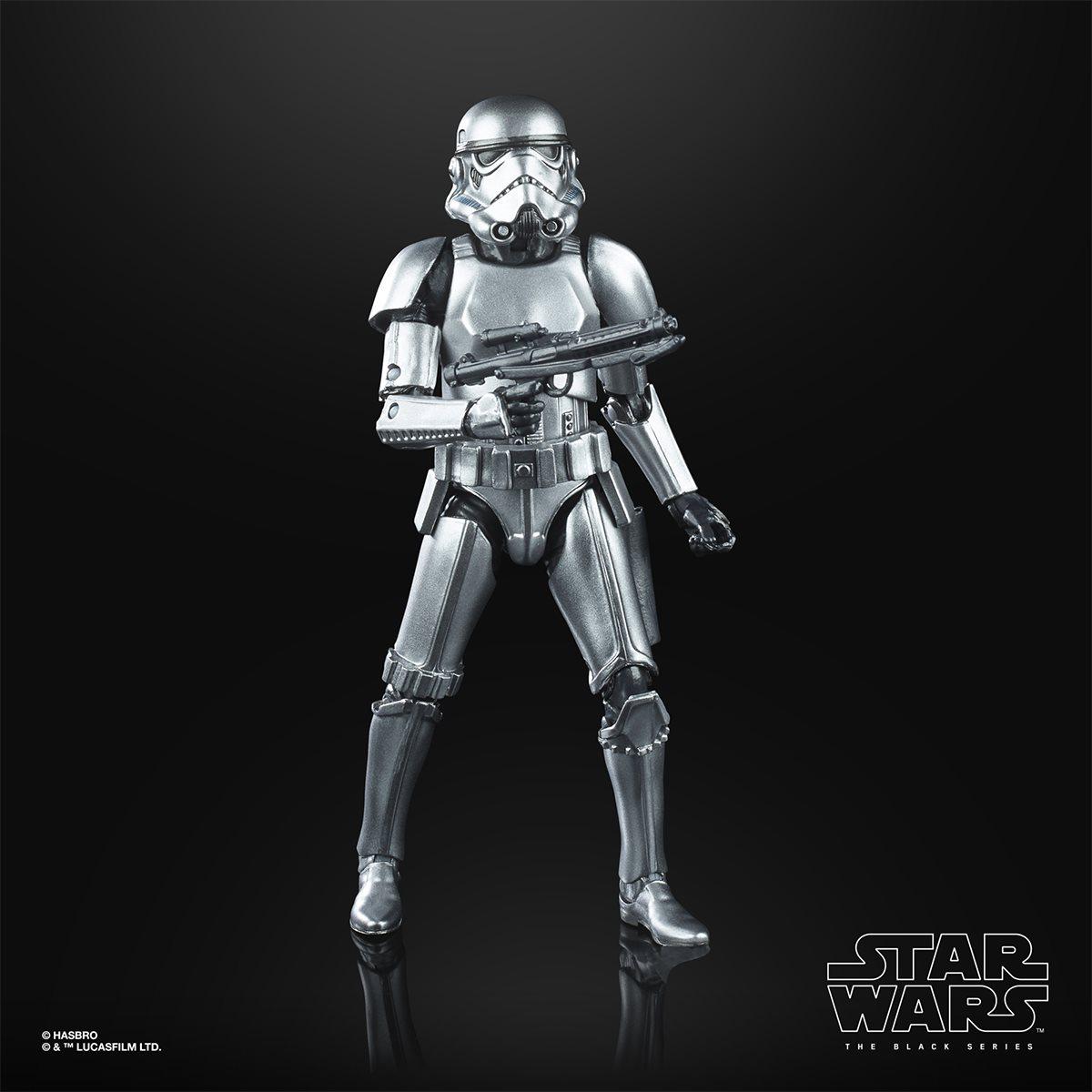 Hasbro PRECO Action Figure Star Wars Black Series Carbonized Stormtrooper