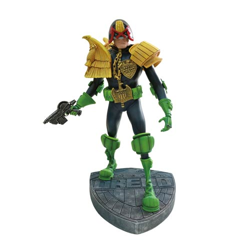 Judge Dredd Artist Edition Statue by Mike McMahon
